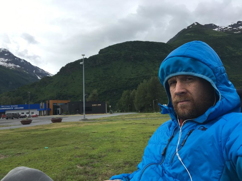 Andy in Valdez