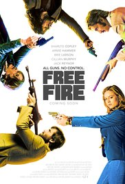 Free Fire 2017 poster