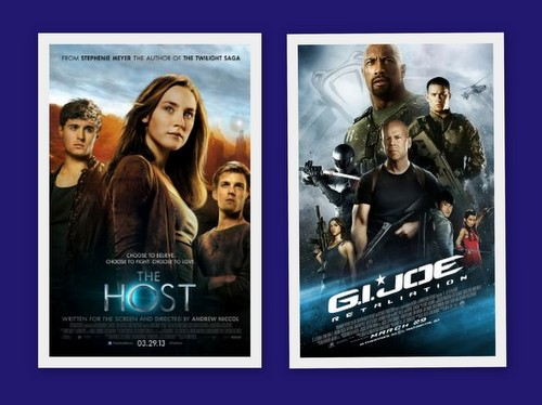 The Host and GI Joe 2 DVD covers