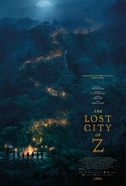 The Lost City of Z 2017 poster