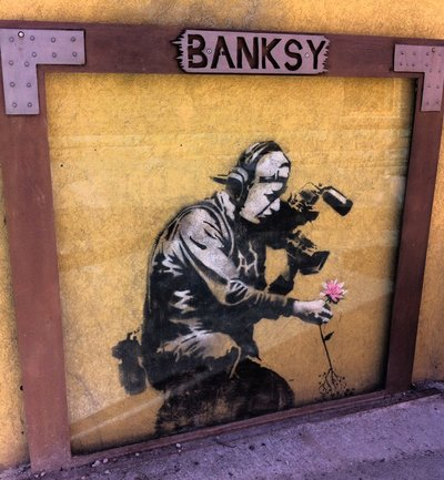 Banksy Park City Art