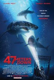 47 Meters Down 2017 poster