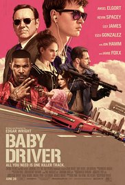 Baby Driver 2017 poster