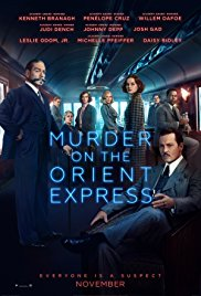Murder on the Orient Express 2017 poster