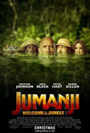 Jumanji: Welcome to the Jungle 2017 poster